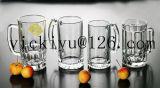 vaso di vetro della bevanda di sorriso di verde 300ml
