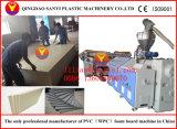 PVC/WPC hoja protuberancia línea (SJ80/156 maquinaria)/WPC