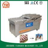 Sellador doble automático del vacío de la empaquetadora del vacío del calamar del compartimiento