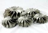 Wiel van de Turbine van de Legering van de Basis van het Nikkel van de Delen van de Turbine van het gas het Turbo