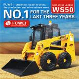 El mejor cargador del buey del patín del alimentador de granja de las niveladoras Ws50 con las conexiones