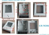 Contenitore di tester di elettricità di monofase dell'ABS, caso del tester di KWH, caso del tester di potere (LH-M206)