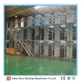 Порошк-Покрытие Китая самое лучшее продавая и сверхмощная платформа деятельности 500kgs вешалки мезонина в Sqm
