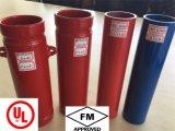 Pipe en acier sans joint d'incendie métallique d'arroseuse d'UL/FM ASTM A53 Sch40