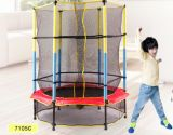 新式の美しくかわいいDeqingは安い小型トランポリンを跳ぶ適性の折る体操を供給する