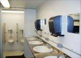 Переносимый прочный полуфабрикат ливень туалета контейнера