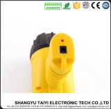 5W Yellow Color Handheld Moving Camping Rechargeable Spotlight LED