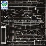 Les profils en aluminium d'extrusion se sont appliqués pour le chemin de fer