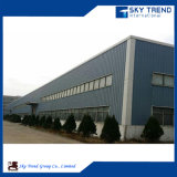 Conservazione frigorifera prefabbricata della struttura d'acciaio del gruppo di lavoro della costruzione