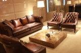 Мебель софы Chesterfield сбор винограда цвета Brown верхнего качества