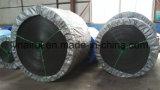 Bande de conveyeur en caoutchouc de cordon en acier résistant de déchirure