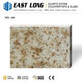 Brames artificielles de pierre de quartz de couleur de granit