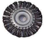 Brosse métallique nouée circulaire de torsion (JL-CTWB)