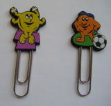PVC Promotional 3D Plastic Cartoon Bookmark (BMS-035) di alta qualità