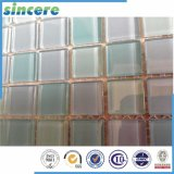 de Tegel van het Mozaïek van het Glas van het Kristal van het Roestvrij staal van de Mengeling van de Decoratie van 300X300mm voor Zwembad