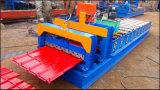 Feuille ondulée de toit effectuant la machine, roulis de toiture en métal formant la machine, machine de laminage des métaux