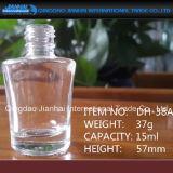 bouteille en verre élevée du silex 20ml pour la bouteille de vernis à ongles avec des chapeaux