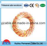 Cordon Twisted de câble isolé par PVC dans la qualité
