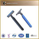 Lâmina de rapagem descartável da lâmina da lâmina do preço de fábrica para a preparação dos homens