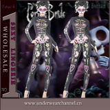 Costumes Cosplay Playsuit черепа партии Halloween каркасные взрослый (TDD80845-2)
