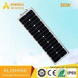 Einteilig/integrierte Solar-LED-Garten-Straßenlaterne/Licht mit PIR Bewegungs-Fühler