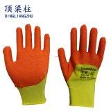 13G Handschoenen van het Werk van het Latex van het Schuim van de polyester Shell Met een laag bedekte in China