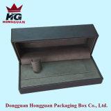 El rectángulo de regalo de madera para la joyería