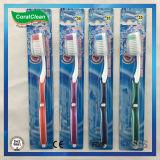 Weiches Du Pont starrt Qualitäts-Erwachsen-Zahnbürste