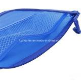 Sacos líquidos plásticos dos artigos de papelaria de PP/PVC com Zipper colorido