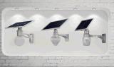 lámpara al aire libre del jardín LED de calle de 12W de la luz del sensor solar de Montion