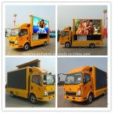 HOWO 4X2 DEL annonçant le véhicule 5 tonnes de DEL de camion mobile d'écran