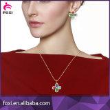 Conjuntos calientes de la joyería del diseño de la dimensión de una variable del corazón de la venta de la manera para el regalo del partido de las mujeres