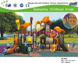 Nuevo diseño equipo del patio Bosque Jinns Kids Playground Equipment