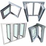 UPVC 이중 유리를 끼우는 여닫이 창 Windows 호주 에너지 효과 기준