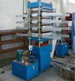 ゴム製床タイルの油圧加硫装置機械