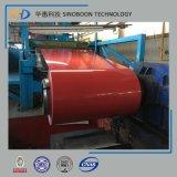 Bobina de aço revestida cor com ISO 9001
