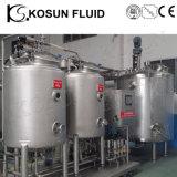 Système de carbonation de réservoir de carbonation de boisson de brasserie d'acier inoxydable