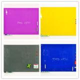 Whiteboard magnético de cristal coloreado papel