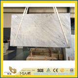 石造りのフロアーリングのためのBiancoカラーラの大理石の平板