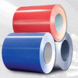 Überzogene Stahlplatte färben