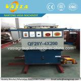 機械にノッチを付けるQf28yの油圧角の角度