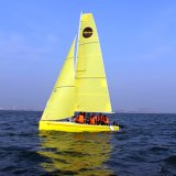 Yacht di navigazione della vetroresina di sport di acqua del nuovo modello 2017 con l'abitudine di marchio