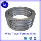 大口径の回転ベアリングのための継ぎ目が無い転送された鋼鉄リングの圧延の鍛造材