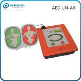 AED externo automatizado médico de primeiros socorros portátil do Defibrillator