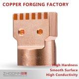 Pieza de cobre de la forja