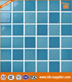 Glazed Ceramic Tile Mosaico per piscina con diversi Design Pattern