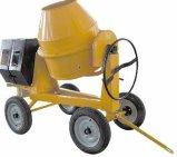 Dois-Rodas 260L/350L do misturador concreto de motor Diesel