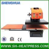 Prix bon marché de machine de presse de la chaleur de Pnuematic de Tableau de jumeau d'impression de transfert de sublimation à vendre