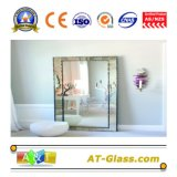 """Specchio dell'argento del vetro """"float"""" utilizzato per la stanza da bagno che veste mobilia"""