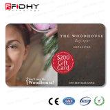 Carte sèche de l'IDENTIFICATION RF MIFARE S50 de paquet d'aperçu gratuit